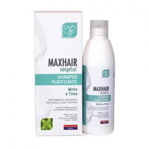 MaxHair vegetal shampoo purificante