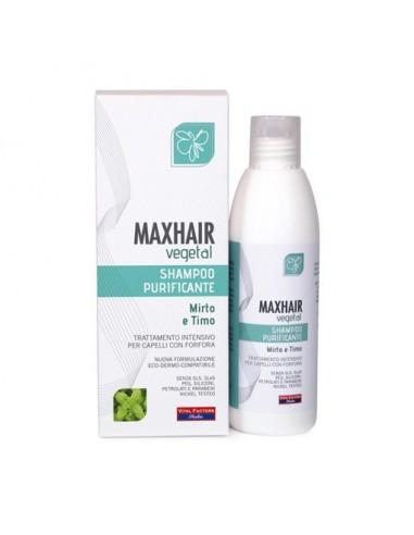 MaxHair vegetal shampoo purificante